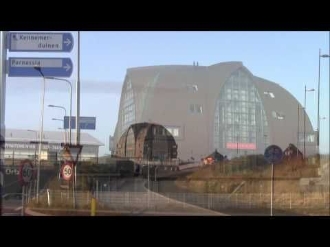 ▶ Walking through Overveen to the beach of Bloemendaal, Holland - YouTube