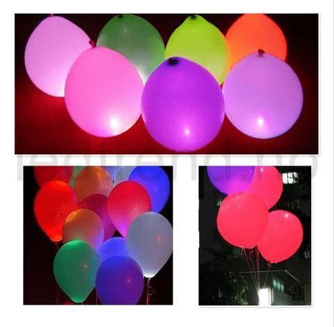 Ballonger med LED-lys | Er det her det er LED-party?    Du finner de hos ledtrend.no