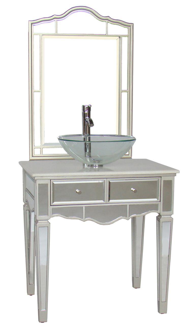 14 best vessel sink vanities images on pinterest for Vessel sink vanity ideas