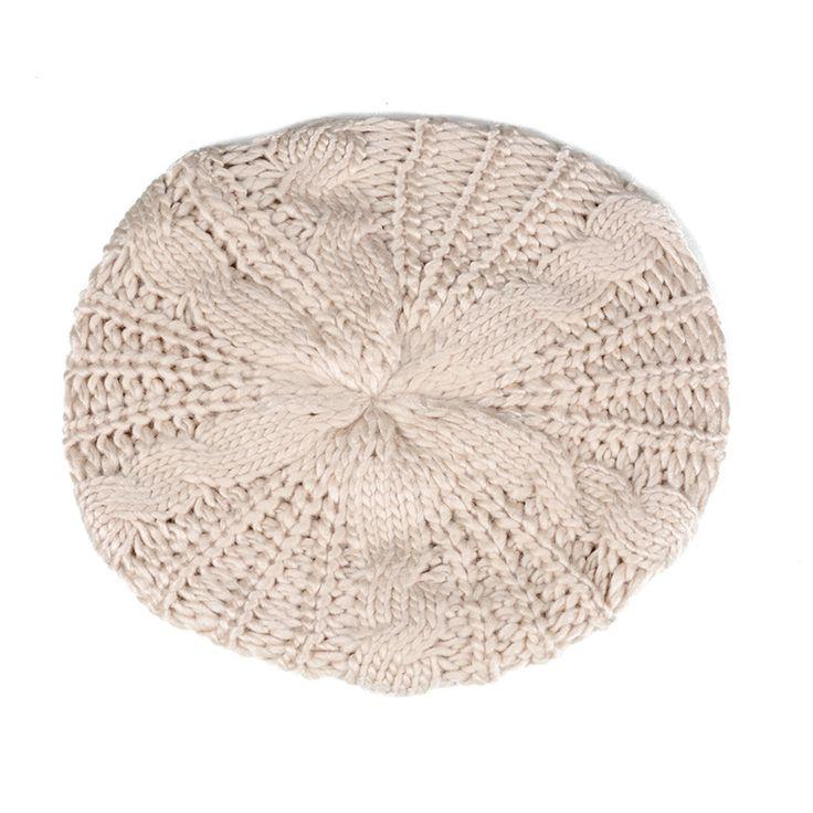 $2.08 (Buy here: https://alitems.com/g/1e8d114494ebda23ff8b16525dc3e8/?i=5&ulp=https%3A%2F%2Fwww.aliexpress.com%2Fitem%2FBeret-tresse-Crochet-Chapeau-Bonnet-ski-des-Femmes-Style-Mode-Tricotes-Ivoire%2F32684200264.html ) Beret tresse Crochet Chapeau Bonnet ski des Femmes Style Mode Tricotes Ivoire for just $2.08