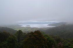 La laguna de la Cocha  también llamada lago Guamuez, consiste en un gran embalse natural de origen glacial, situado en el corregimiento El Encano del municipio de Pasto, departamento de Nariño, al sur occidente de Colombia.