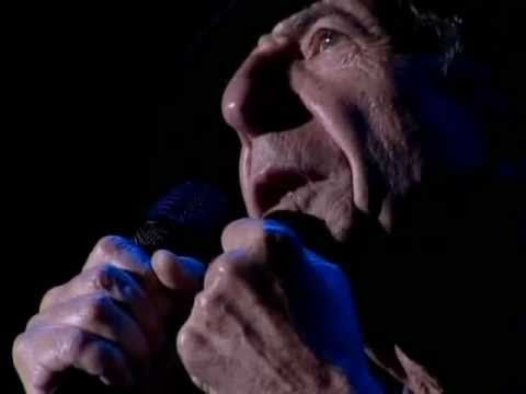 If this doesn't make you melt, then I don't know what will.  Leonard Cohen Live - A Thousand Kisses Deep [HQ]
