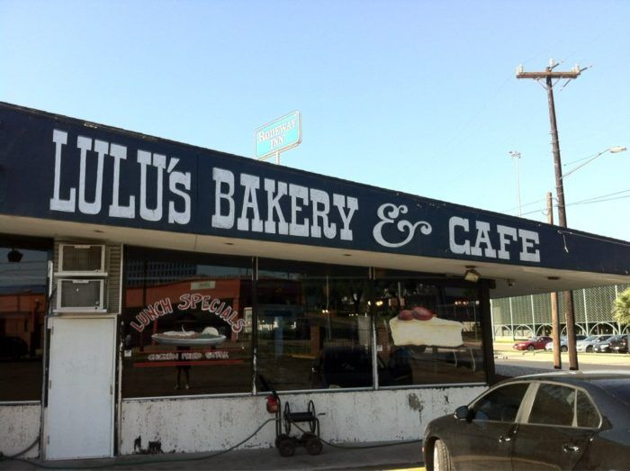 1. 5 lb cinnamon roll at Lulu's Bakery & Cafe (San Antonio)