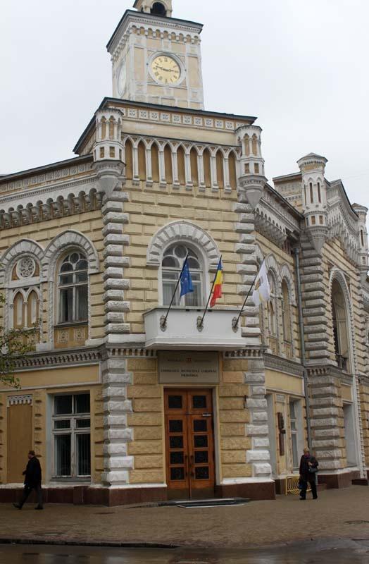 Chisinau City Hall Building
