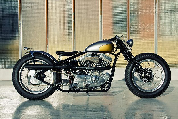 In Copenhagen, Denmark, lives one of Europe's top independent Harley builders. James Roper-Caldbeck builds sweet, clean vintage bikes under the Customs From Jamesville banner, and this Evo Sportster-based machine is his latest creation.
