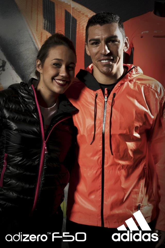 "Lucio (F.C Inter) @adidas Performance Store Milano (17/02/2011 Milan,Italy) "" New adizero F50 with Lucio "" #inter #milan #lucio #seriea #adidas"