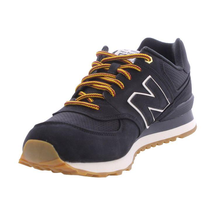 New balance - Men's Outdoor 574 Nubuck Sneakers - Black