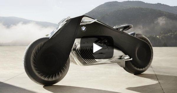 La nuova moto BMW VISION NEXT 100 ti porta nel FUTURO