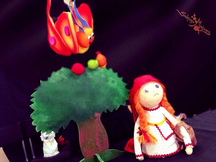 Caperucita Roja en inglés #teatro #infantil