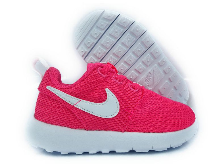 [749425-609] #nike roshe one hyper pink white toddlers sneakers size 10 from $55.0