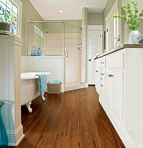 Armstrong High performance imitation wood vinyl floor for domestic use  EXOTIC FRUITWOOD - ESPRESSO