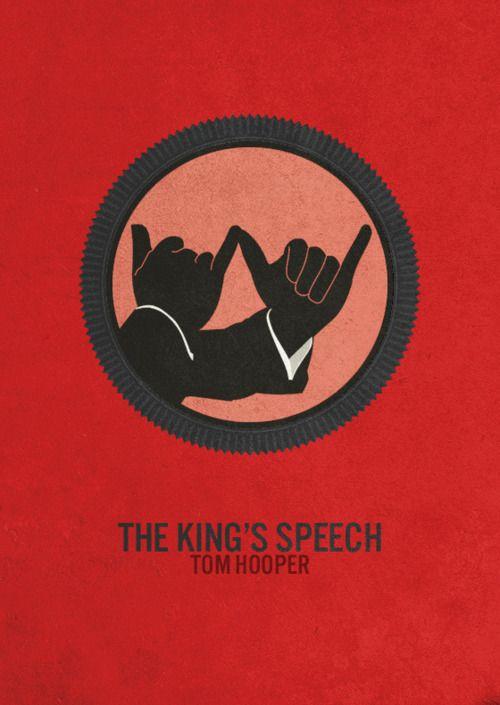 The King's Speech minimalist movie poster