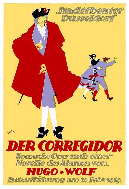 Adolf Uzarski, Der Correigdor (Stadttheater Duesseldorf), 1919