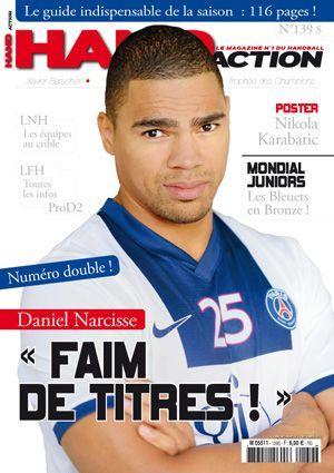 Hand Action Septembre 2013, numéro 139 avec en couverture Daniel Narcisse.