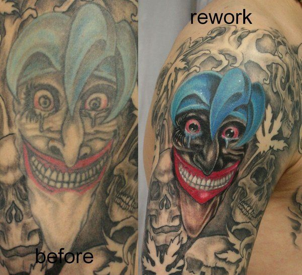 Best 25 good and evil tattoos ideas on pinterest - Wicked 3d tattoos ...