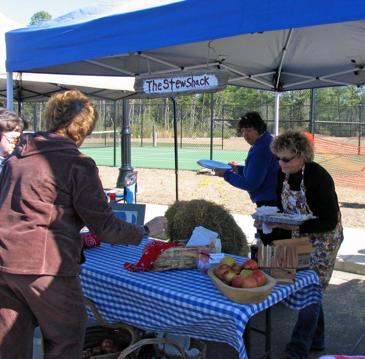 The Annual Brunswick Stew Cook-off Is Held In December At