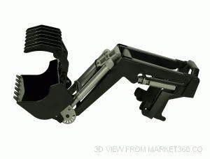 Frontloader for Tractor Series 03000 bruder 03333