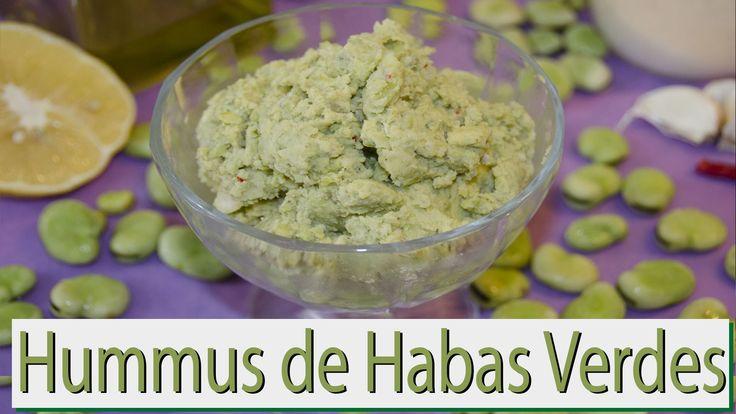 Hummus de Habas Verdes. Las Recetas del Hortelano - YouTube