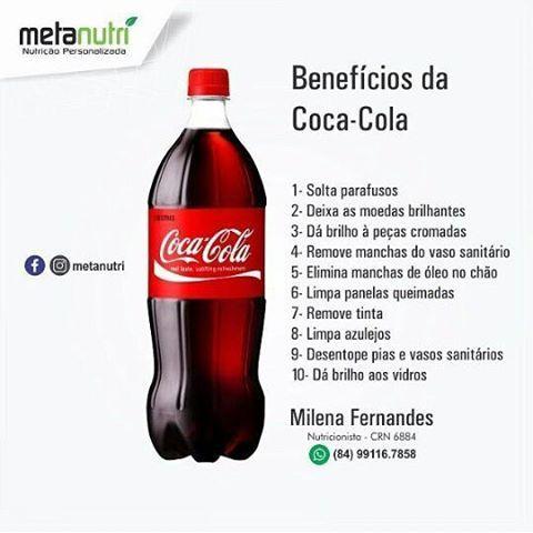 """2 Likes, 3 Comments - Celia Souza Lima (@souzalimacelia) on Instagram: """"A Coca Cola, estimula o Câncer de Estômago."""""""