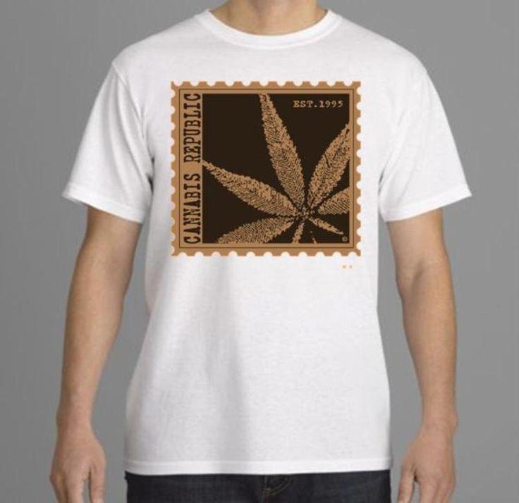 Mens Tshirt-Marijuana Tee-Weed Tshirt, Cannabis, sport gray/athletic gray tee (size Sm-3XL) by CannabisRepublicTeez on Etsy