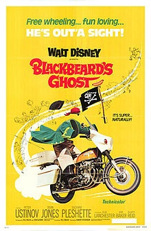 Disney darlings Dean Jones and Suzanne Pleshette are faculty at a New England college where he accidentally brings a ghost to life (Peter Ustinov).