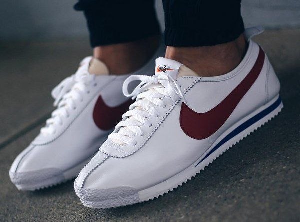 wholesale dealer 78e53 fab7b Nike Cortez  72 SP Leather OG White Red   Kicks in 2019   Nike shoes, Nike  cortez 72, Sneakers