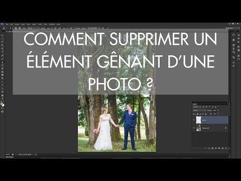 Apprendre la photo - Comment supprimer un élément d'une photo avec Photoshop ? - YouTube