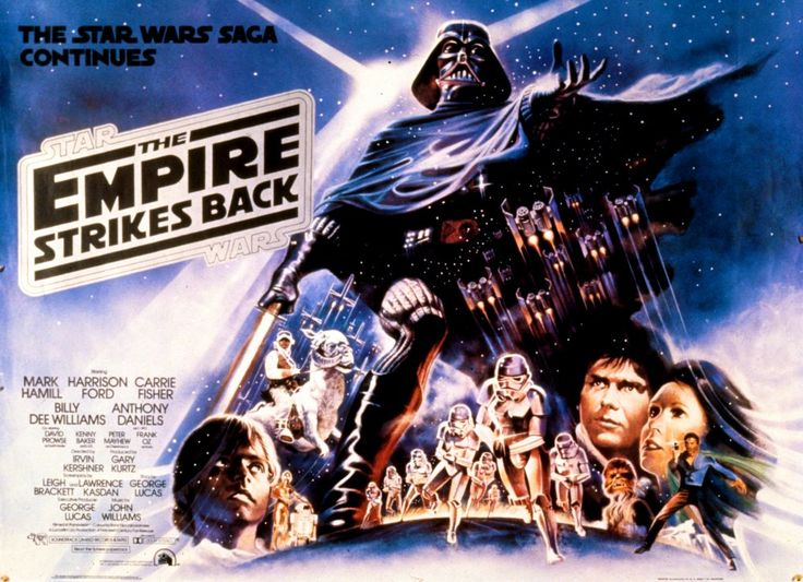 The Empire Strikes Back (1980) poster.