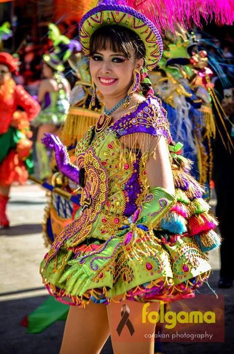Carnaval Oruro 2014 #Bolivia #Colour #Alegría