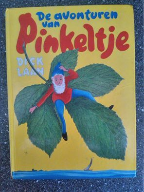 Pinkeltje, kinderboek, wat oudere uitgave 1974, nette staat.- 1,00 € -