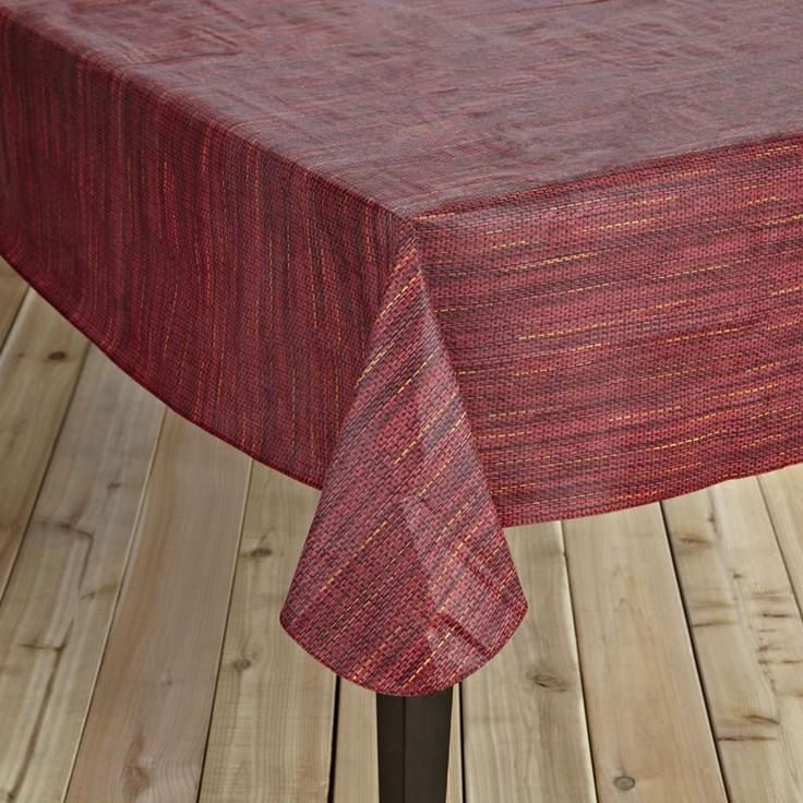 Great for outdoor bbq's and picnics, the Ritz Basketweave Peva Tablecloth is an eco-friendly, odorless, easy to clean way to bring some flare to your next outdoor dinner party.
