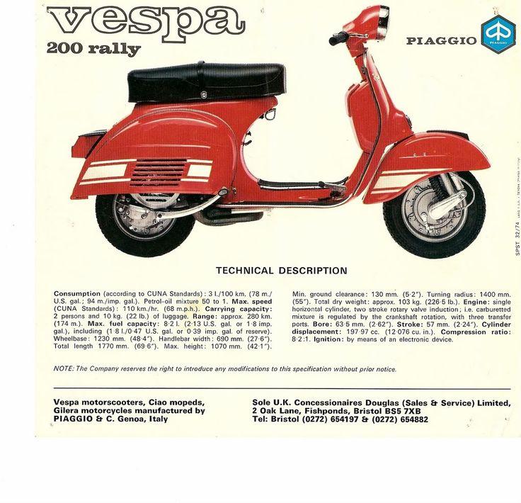 Modern Vespa : New addition - 1974 Rally 200