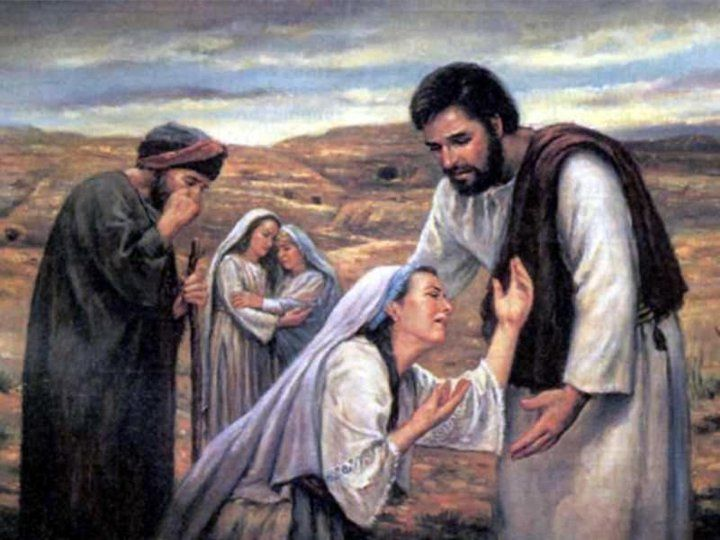 nain women Jesus raises the widow's son at nain - soon afterwards he went to a town called nain, and his disciples and a large crowd went with him as he approached the gate of the town, a man who had died was.