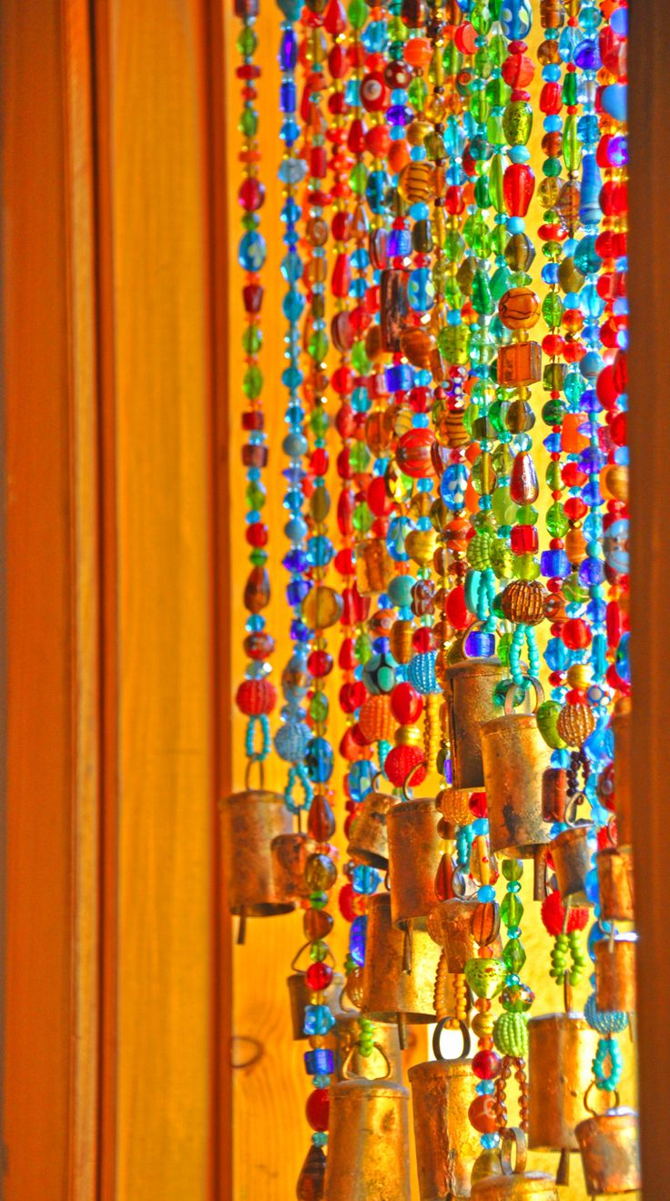 Best 25 hanging door beads ideas on pinterest macrame curtain hanging beads and beaded curtains - Glass beaded door curtains ...