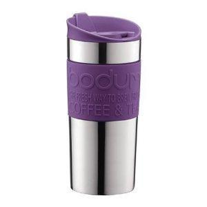 Bodum Vacuum Travel Mug Purple