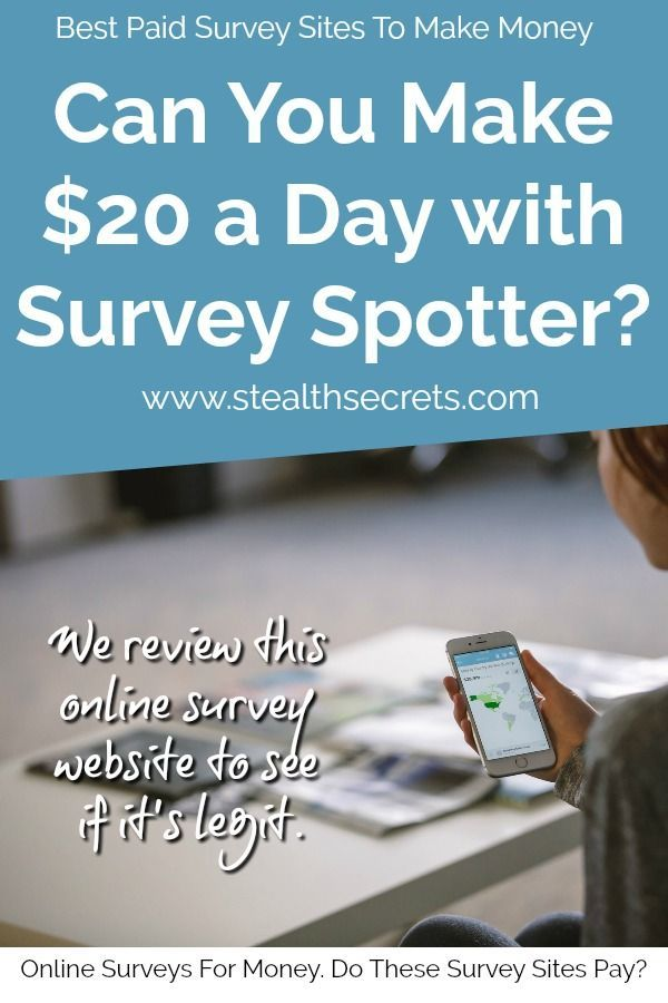 Is Survey Spotter One Of The Best Paid Survey Sites To Make Money