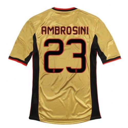 Maglia AC Milan 2013-2014 3rd 23 AMBROSINI