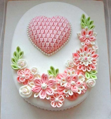 Cake Wrecks - Home - Sunday Sweets: Jen Gets Girly. This is an actual quilled cake not paper quilling which is what you will see most often.