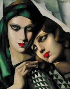 Tamara de Lempicka puzzle : Le turban vert