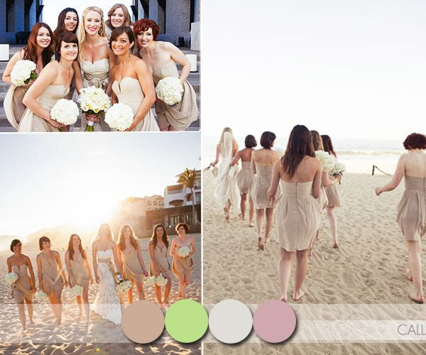 Styling Tips For Embracing A Beach Wedding Theme: 1000+ Ideas About Flattering Bridesmaid Dresses On