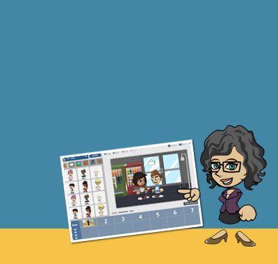 Create custom animations w/ educational portal for students.