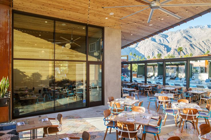 The best places to fuel up for or wind down from a day in the desert - Best Restaurants in Palm Springs
