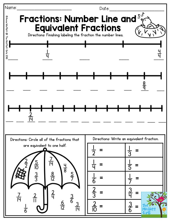 52 Best Images About Fractions On Pinterest