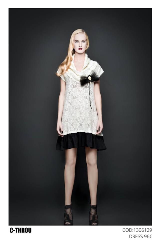 1306129  C-THROU ΦΟΡΕΜΑ ΜΙΝΙ ΜΕ ΧΕΙΡΟΠΟΙΗΤΟ ΦΙΟΓΚΟ ΑΠΟ ΤΟΥΛΙ96.00 € Ιδανικό για φορεθεί όλη μέρα.Σε 2 υπεροχα χρώματα για να κάνετε την πιο εντυπωσιακή εμφάνιση.http://www.c-throu.com/eshop/c-throu/foremata/1306129-c-throu-bow-decorativ...