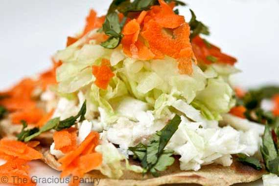 Sub Type O Cabbage.  For YF, note that tortillas have quinoa and brown rice flours:  Clean Eating Fish Tacos