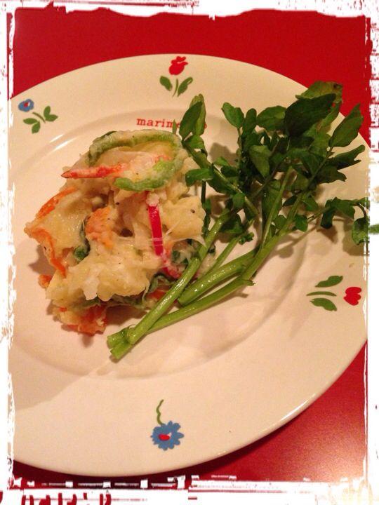Color Bell Pepper Potato Salad