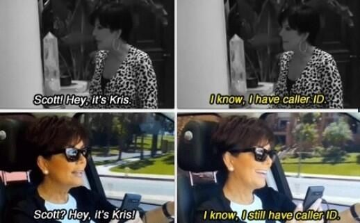Scott Disick. This was the best!