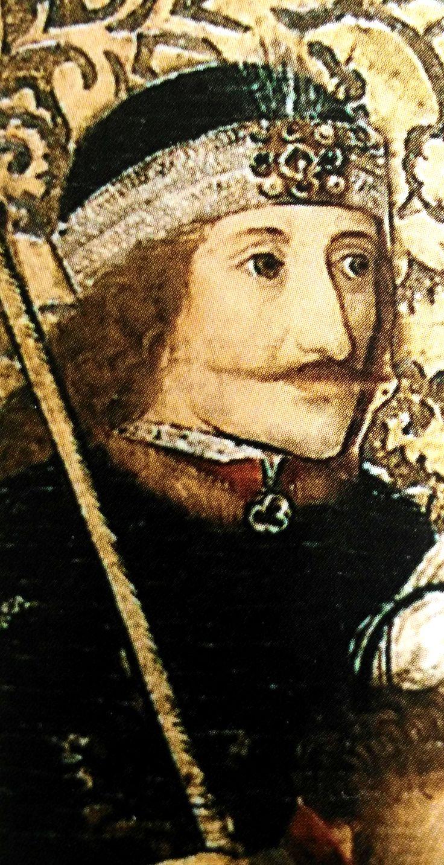 Vlad Dracula Ţepeş. The Martyrdom of Saint Andrew, austrian artist, 1470-1480, Österreichische Galerie Belvedere, Wien. Deatil