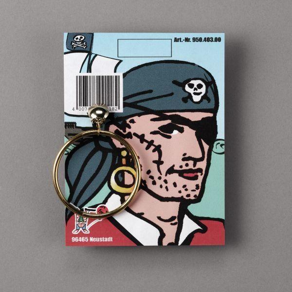 Pirat ørering til din pirat udklædning