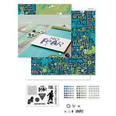 Later Sk8r Scrapbooking Kit